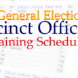 2012 General Election Precinct Officials Training Schedule Location: Guam Election Commission Conference Room, GCIC Bldg., Ste. 200, Hagatna