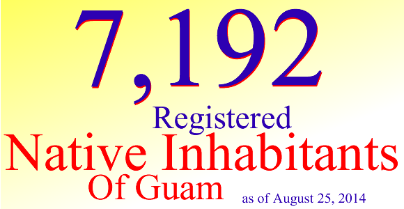 The Guam Election Commission is pleased to announce that as of August 25, 2014 there are 7,192 registered Native Inhabitants of Guam. Precinct-level Report of Native Inhabitants of Guam (opens […]