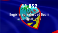 The Guam Election Commission is pleased to announce that as of July 31, 2015 there are 44,852 registered voters of Guam. Click here to view Election Polling Sites & […]