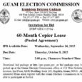 **CANCELLED** IFB-GEC-2015-02 Addendum No. 3 (October 14, 2015)  Invitation for Bid # GEC-15-02 60-Month Copier Lease (Pooled Agreement)   Issue Date: Wednesday, September 16, 2015 Bid Due Date: 2:00 p.m., Thursday, October 8, […]
