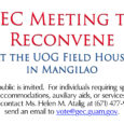 2016 Guam Election Update Guam Election Commission Meeting Guam Election Commission will reconvene on Friday, August 26,  2016, at 12:00 p.m. The public is invited.  For individuals requiring special accommodations, auxiliary aids, […]