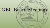The Guam Election Commission Reconvened Board Meeting will be held on Thursday, March 21, 2019 at 5:30 p.m. in the GEC Conference Room on the second floor of the GCIC Building in Hagåtña. […]
