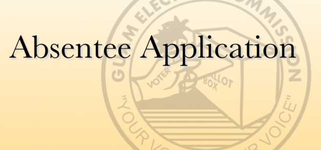 Please download the application by clicking here. You may submit your application to voteabsentee@gec.guam.gov when completed. Please note the following: If you are not currently registered to vote, your absentee […]