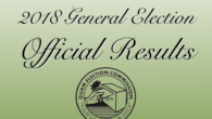 Click the links below to view the write-in names for the 2018 General Election. Gubernatorial Race Congressional Race Legislative Race Attorney General Race Consolidated Commission on Utilities Race