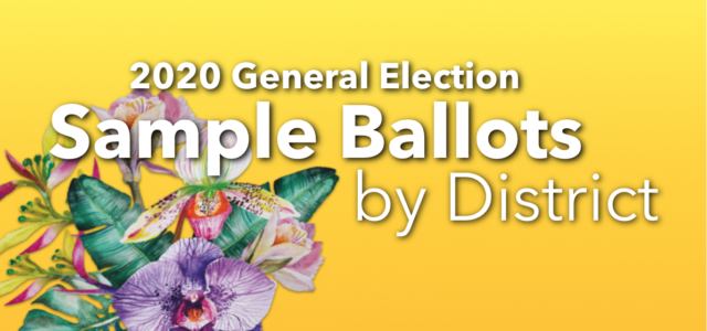 Linked below are sample ballots for each of Guam's 19 voting districts. Please click the link to view or download the file. Hagåtña Asan Maina Piti Agat Santa Rita Umatac […]