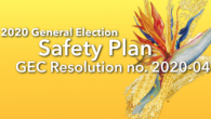 Pursuant to Public Law 35-96, the Guam Election Commission submitted GEC Resolution no. 2020-04 to I Liheslaturan Guåhan on Monday, September 14, 2020. Please click the link above to view […]