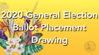 The GEC held the 2020 General Election Ballot Placement on Wednesday, September 9, 2020 at 5:30 p.m. in Hagåtña. The recording of the livestream is linked below for review. Si […]